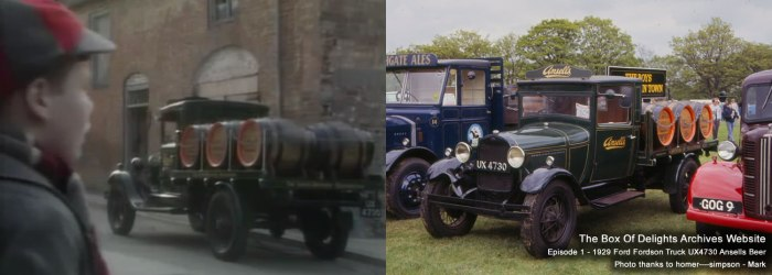 Episode 1 - 1929 Ford Fordson Truck UX4730 Ansells Beer Photo thanks to homer----simpson - Mark