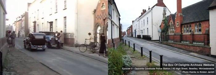 Episode 5 - Opposite Condicote Police Station / 42 High Street, Bewdley, Worcestershire. Photo thanks to Kirsten Jarrett.